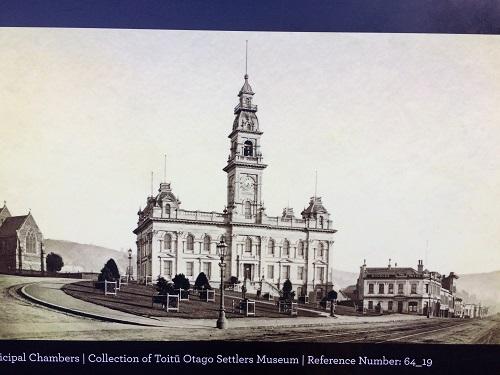 ダニーデン市庁舎 の昔の写真
