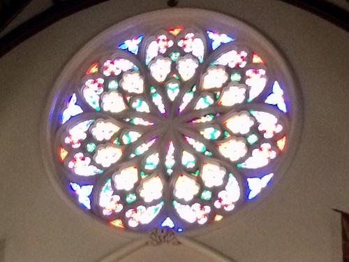 ファースト教会のバラ窓
