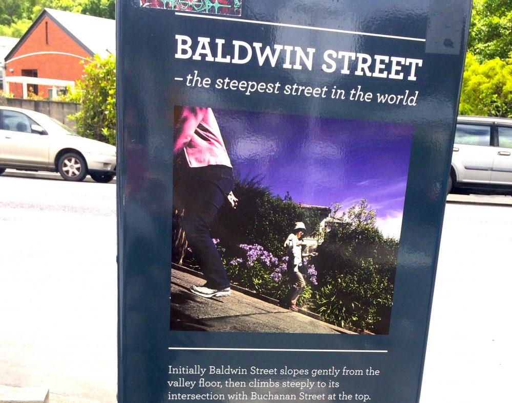 ボールドウィン・ストリートは世界で一番急な坂