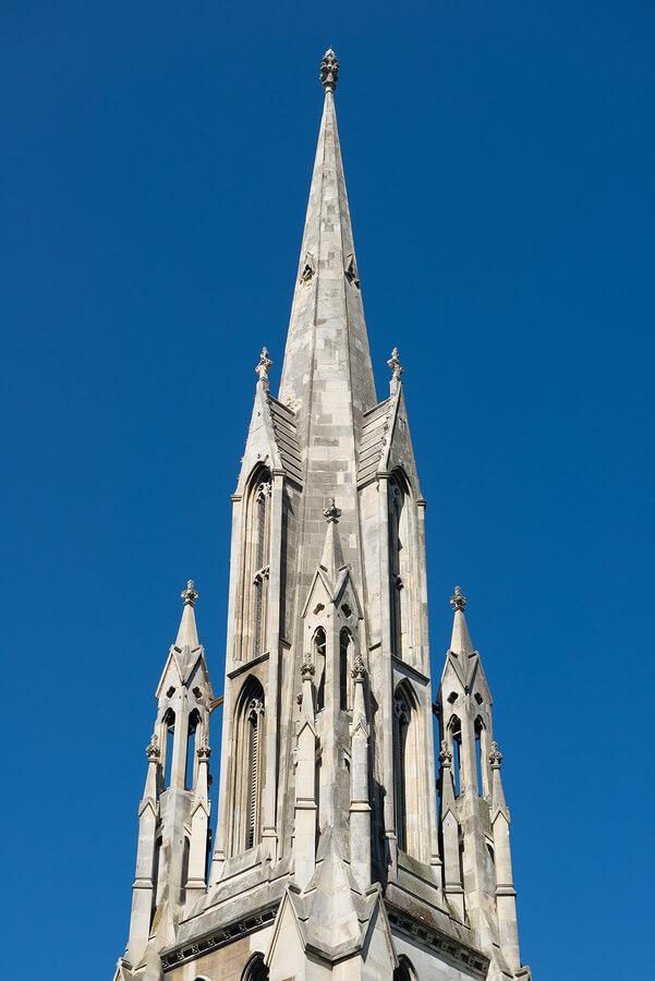ファースト教会の尖塔