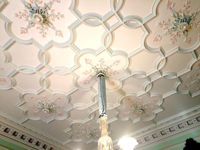 ラーナック城の女性の部屋の天井