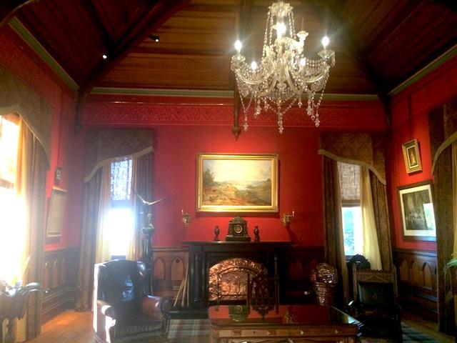 ラーナック城の音楽室