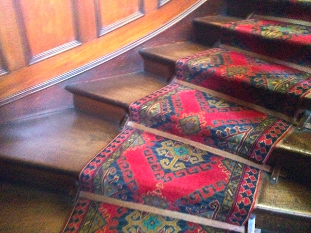 ラーナック城のらせん階段