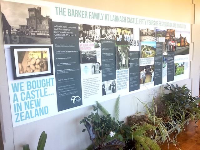ラーナック城の家族の歴史
