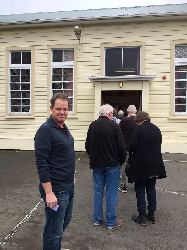 ニュージーランド選挙投票日