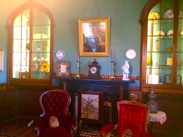 ラーナック城の図書室