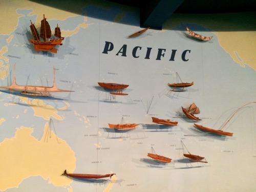 オタゴ博物館 太平洋の展示物