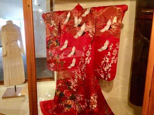 オタゴ博物館 小樽から寄贈された着物