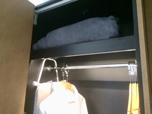 ディスティンクション ダニーデンホテル 予備の毛布
