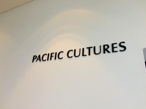 オタゴ博物館 Pacific Cultures
