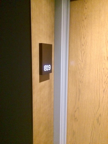 ディスティンクション ダニーデンホテル Studio room ドア