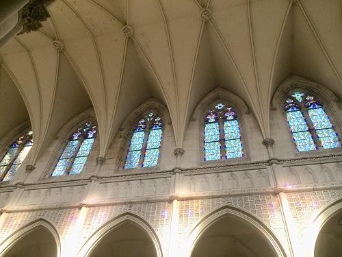 セント ジョセフ 大聖堂 天井近くの窓