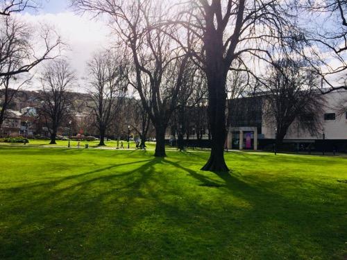 オタゴ博物館 外の広場