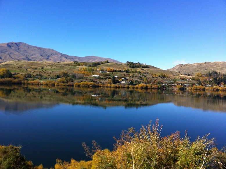 レイクヘイズ 秋の景色