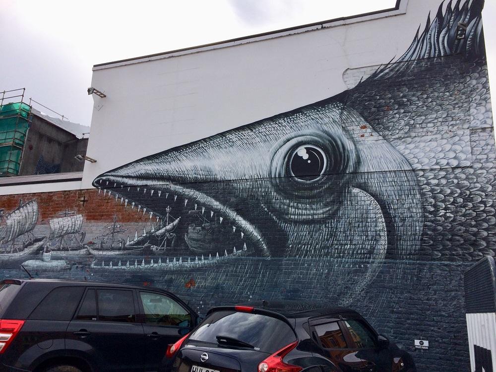 ダニーデン ストリートアート 76 Vogel Street