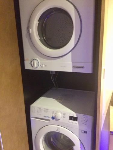 ディスティンクション ダニーデンホテル 洗濯機と乾燥機