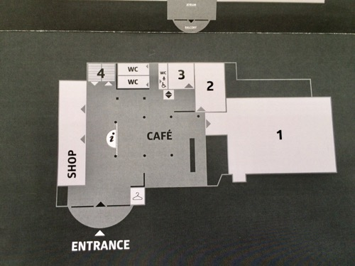 オタゴ博物館 地図 Ground Level