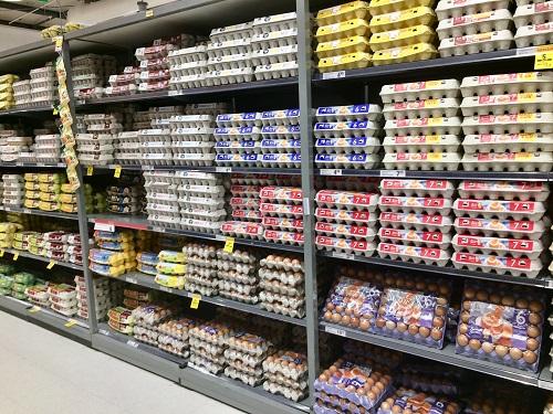ダニーデンのカウントダウンセントラル 卵売り場