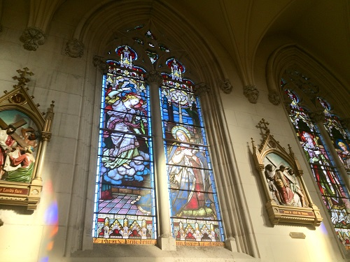 ョセフ 大聖堂 ステンドグラス