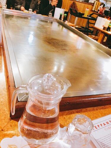 ダニーデンの鉄板焼きTokyo Garden 鉄板