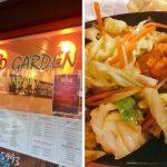 ダニーデンのレストラン Tokyo Gardenで鉄板焼き