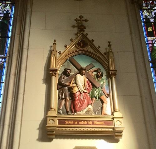 セント ジョセフ 大聖堂  キリストの物語