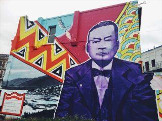 ダニーデンのストリートアート 179 Rattray Street