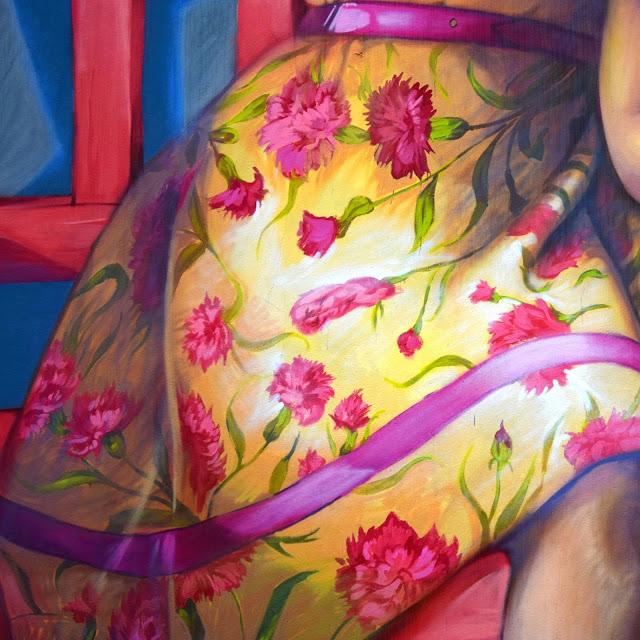 ダニーデンストリートアート 48 Bond Street 女の子のスカート