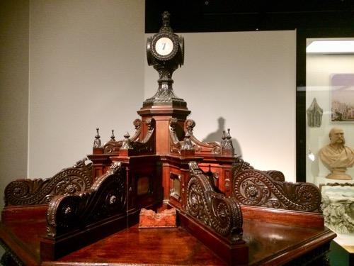 トイトゥ・オタゴ・セトラーズ・ミュージアム ニュージーランド銀行の机