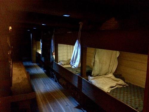 トイトゥ・オタゴ・セトラーズ・ミュージアム 移民の船の中