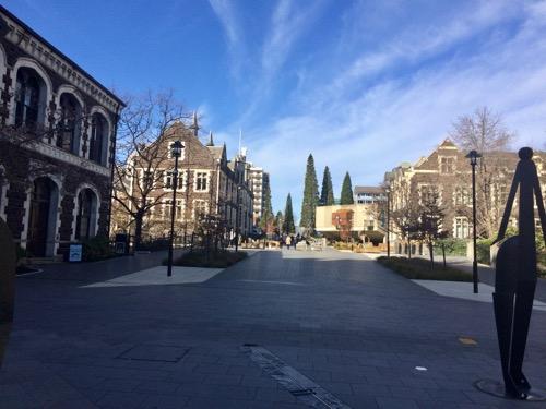 オタゴ大学 キャンパス内部