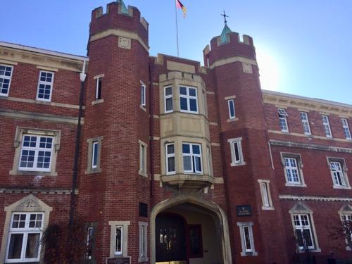 オタゴ大学 キャンパス内の建物