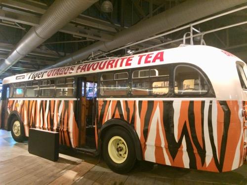 トイトゥ・オタゴ・セトラーズ・ミュージアム タイガーティーのバス