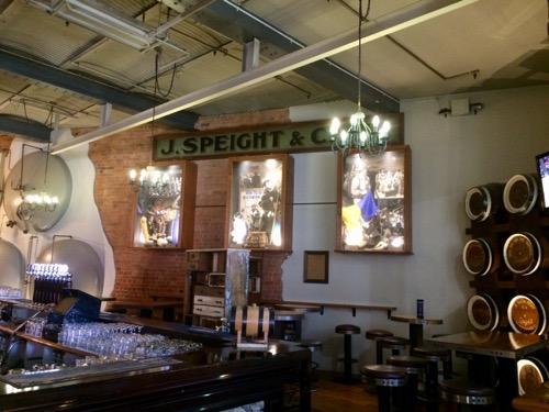 ダニーデンのスぺイツ醸造所レストラン