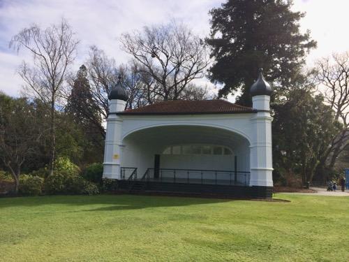 ダニーデン植物園 ステージ
