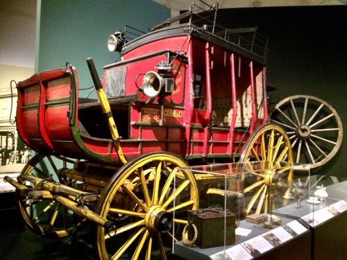 トイトゥ・オタゴ・セトラーズ・ミュージアム ゴールドラッシュ時代の馬車