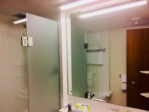 サザンクロス ダニーデン シャワー浴室