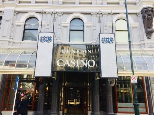 サザンクロス ダニーデン カジノの建物