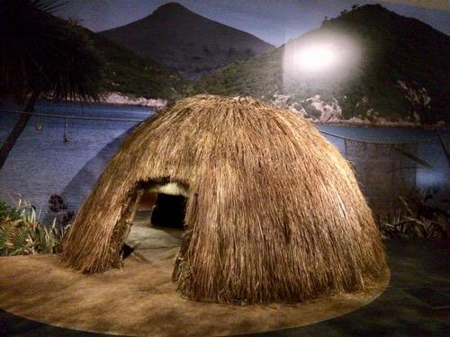 トイトゥ・オタゴ・セトラーズ・ミュージアム マオリの家