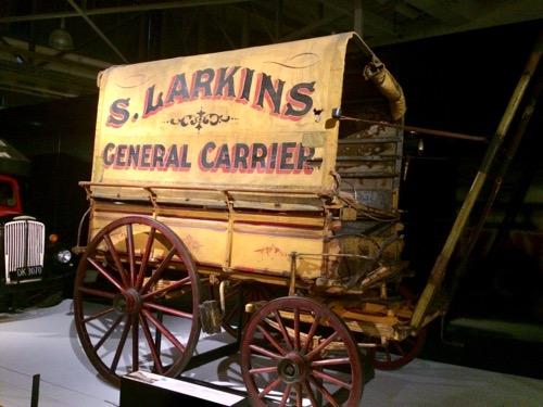 トイトゥ・オタゴ・セトラーズ・ミュージアム 馬車の写真
