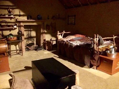 トイトゥ・オタゴ・セトラーズ・ミュージアム ダニーデンの昔の家の内部