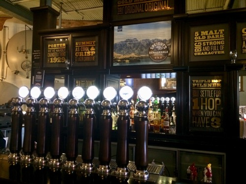 ダニーデンのスぺイツ醸造所 レストランで飲める生ビール