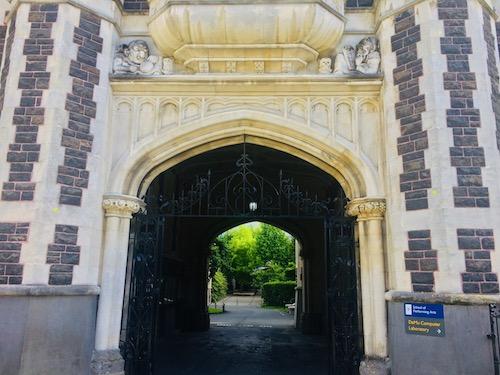 オタゴ大学の歴史を感じる建物