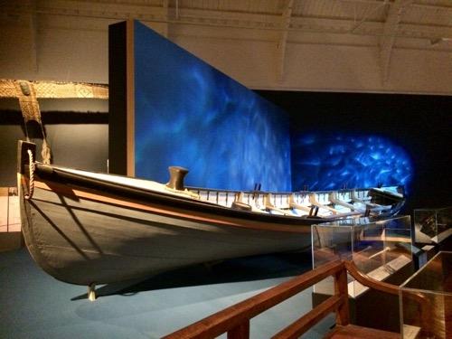 トイトゥ・オタゴ・セトラーズ・ミュージアム マオリのカヌー