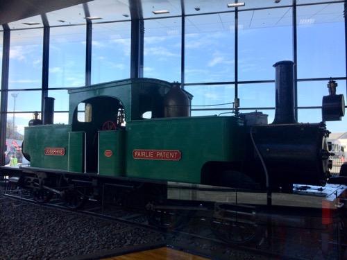 トイトゥ・オタゴ・セトラーズ・ミュージアム 蒸気機関車