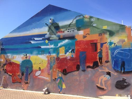 ダニーデン セントクレアビーチ 壁画