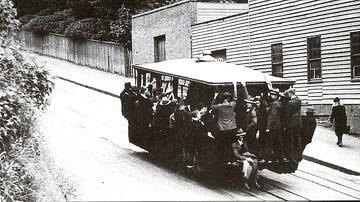 ダニーデンのケーブルカー 1957年が最後