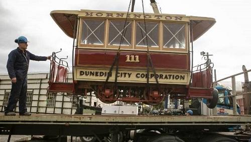 ダニーデンのケーブルカー 修復後