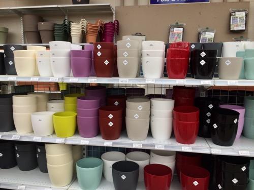 Nichols ダニーデン プラスチックのカラフルな植木鉢