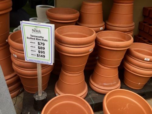 Nichols ダニーデン テラコッタ植木鉢